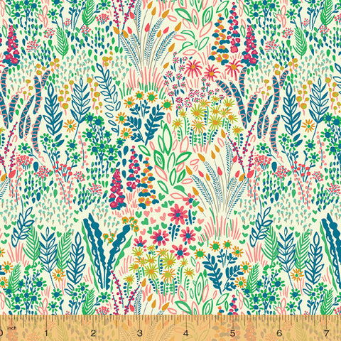 Solstice by Sally Kelly for Windham Fabrics - Meadow in Sand