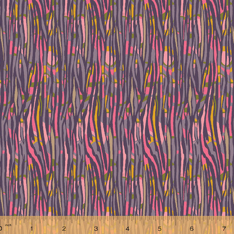 Solstice by Sally Kelly for Windham Fabrics - Bamboo in Pink