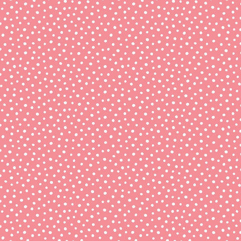 Felicity Fabric Forest Walk  - Speckles in PInk