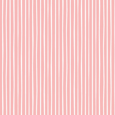 Felicity Fabric Forest Walk - Rows in Pink