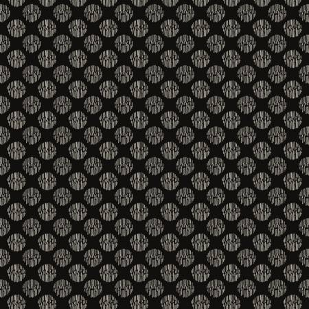 Camelot Fabrics - Oxford - Textured Spot in Black