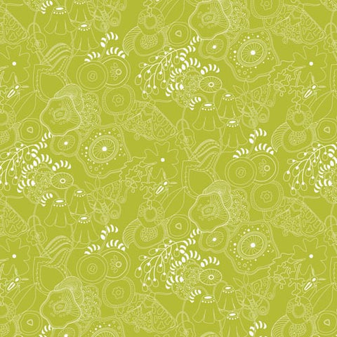 Alison Glass Sun Print Grow Fern