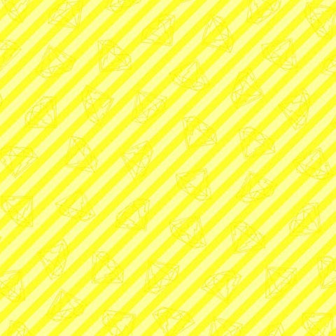 Tattoed by Libs Elliott - Gem Stripe Yellow