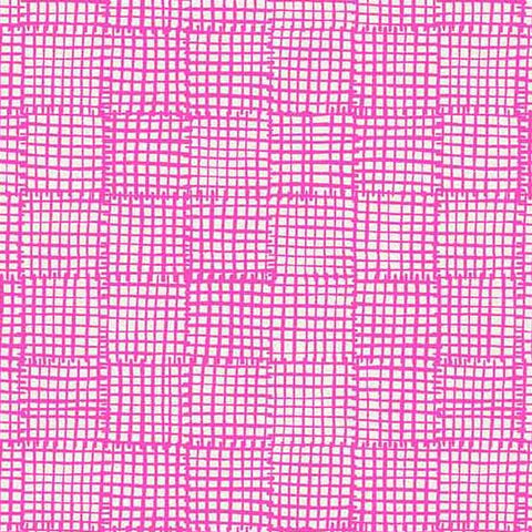 Sarah Golden - Cats and Dogs - Grid in Pink