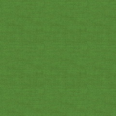 Makower Linen Texture Grass Green