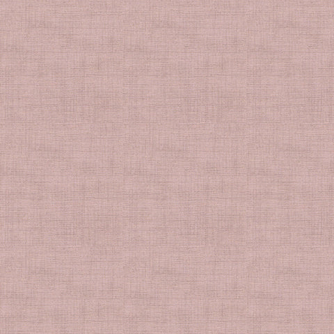 Makower Linen Texture Rose
