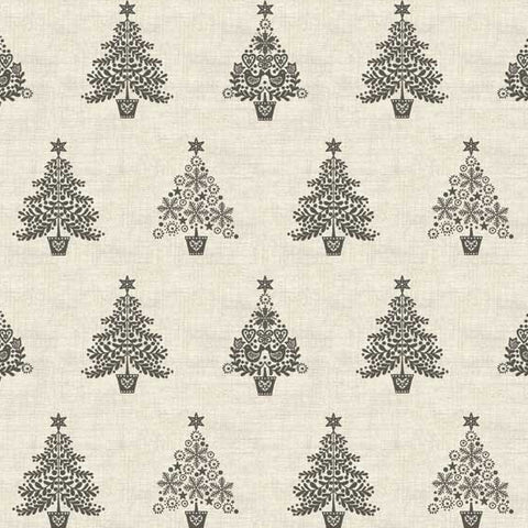 Makower Scandi Trees in Grey
