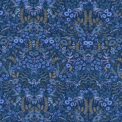 Menagerie by Rifle Paper Co. - Tapestry Navy