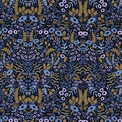 Menagerie by Rifle Paper Co. - Tapestry Midnight