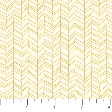 Figo Mountain Meadow - Herringbone in Yellow