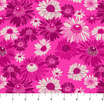 Figo Flora by Marisol Ortega - Daisy on Pink