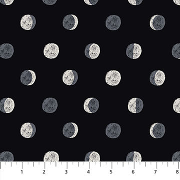 Figo Celestial by Yelena Bryksenkova - Moon Phases in Black