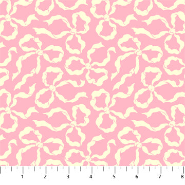 Figo True Kisses by Heather Bailey - Ribbons in Pink