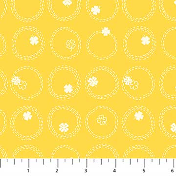 Figo Lucky Charms Basics - Clover in yellow