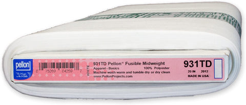 Pellon Stabilizers - 931  Fusible Mid-Weight