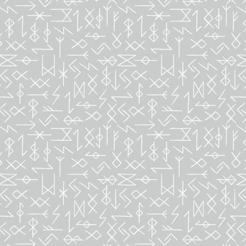 Lewis & Irene Viking Adventure - Runes in Grey