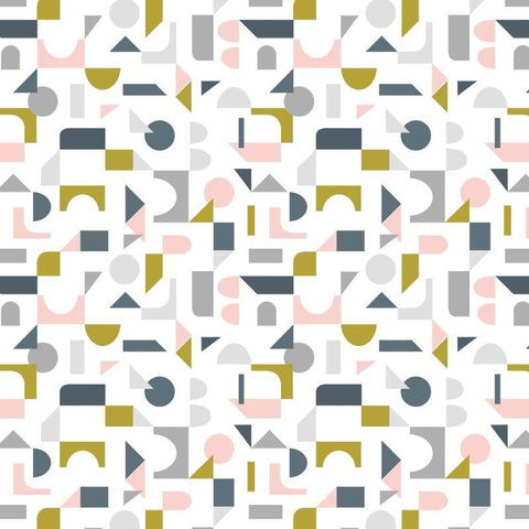 Lewis & Irene - Scattered Geometric on Cream