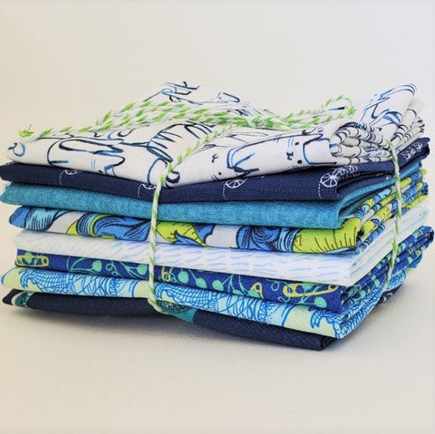 Staff Picks Bundle - 8 Fat Quarters - A Cat's World