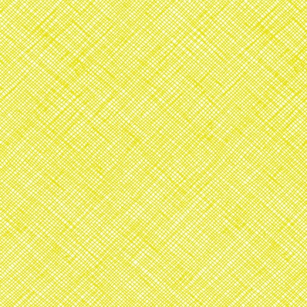 Architextures - Carolyn Friedlander Crosshatch in Acid Lime