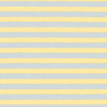 Carolyn Friedlander Blake Stripe jersey knit in fog