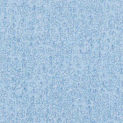 Polk by Carolyn Friedlander - Spots Essex in Paris Blue