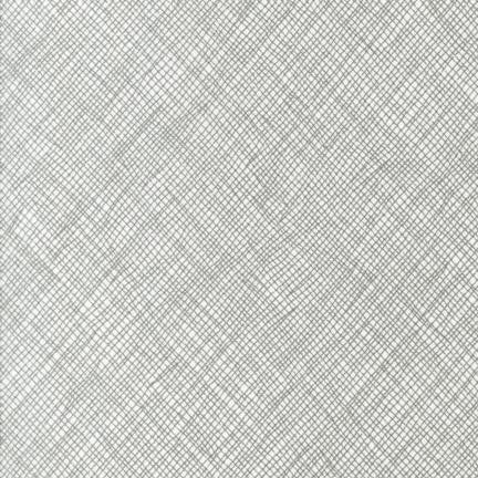 Carolyn Friedlander Widescreen  - Crosshatch Grey