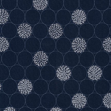 Shimmer 2 by Jennifer Sampou - Indigo Circles