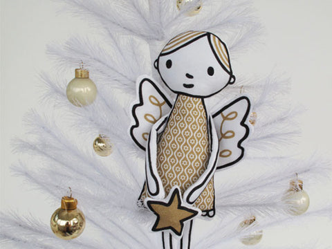 Happy Sew Lucky Cut and Sew Kit - Angel