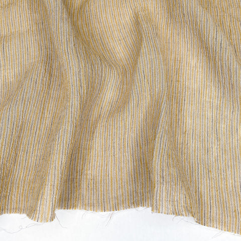 Athena Linen Stripe in Citrus