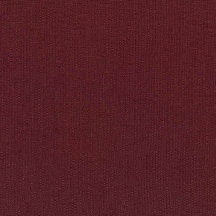 Essex linen/cotton - Bordeaux
