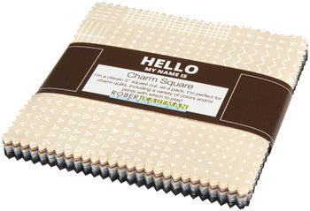 Karen Lewis Blueberry Park - Charm Squares - Neutral