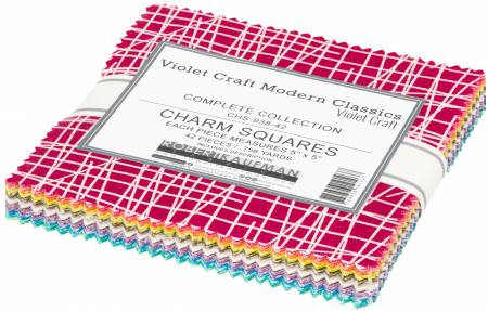 Violet Craft - Modern Classics New Colours - Charm Squares