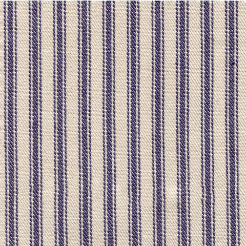 Woven Ticking - Navy
