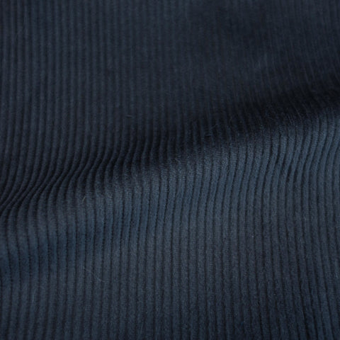 Cotton stretch Corduroy - 8 wale - Indigo