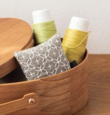 Cosmo Pin Cushion Sashiko Kit - Natural