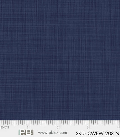 "Color Weave Wide Back 108"" - Navy"