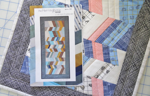 Carolyn Friedlander Herringbone Runner Kit