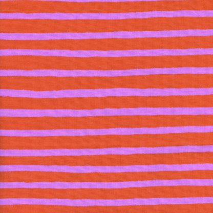 Wonderland by Rifle Paper Co. - Cheshire Stripe Orange
