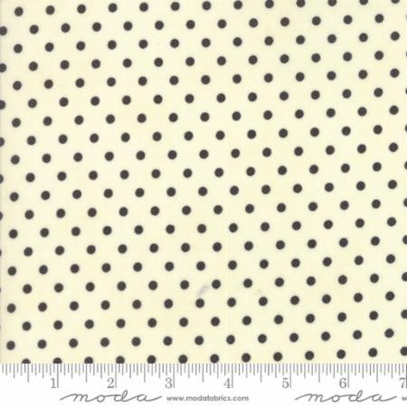Chestnut Street by Fig Tree Quilts Polka Dot Black
