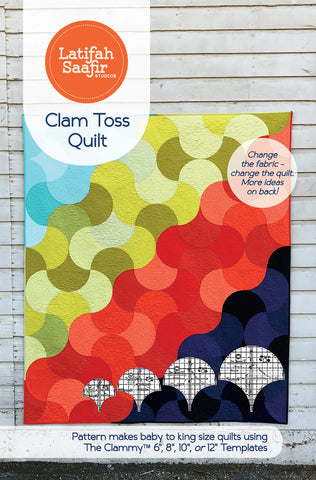 Latifah Saafir - Clam Toss Quilt Pattern