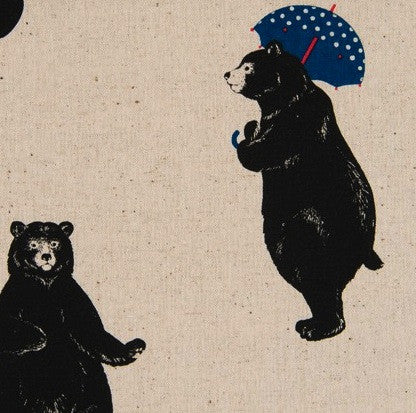 Cosmo Bears with Umbrellas - White
