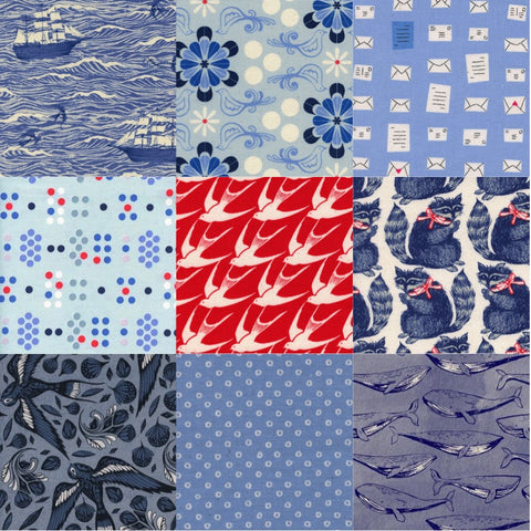 Designer Bundle - SS Bluebird by Cotton + Steel 9xFQ
