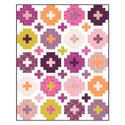 Figo Mountain Meadow - Abacus in Pink