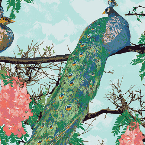Decadence - Katarina Roccella - Florid Peacocks in Demure