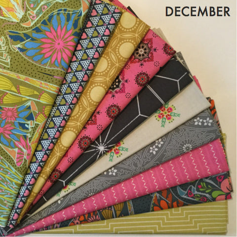Fat Quarter Bundle - December The Best of Free Spirit