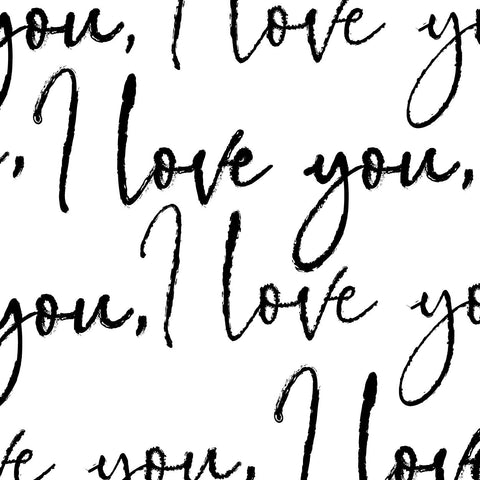"Devonstone 108"" Quilt Back - I Love You"