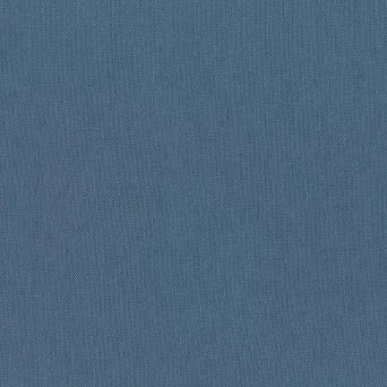 Essex linen/cotton - Cadet