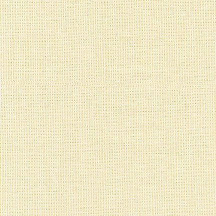 Essex Yarn Dyed linen/cotton - Ivory Metallic