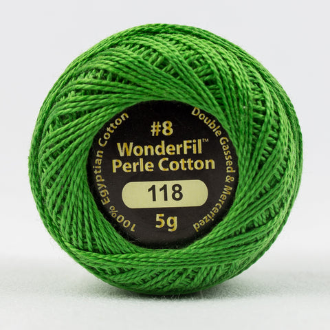 Wonderfil Eleganza Perle Cotton 8wt. - New Spring 118