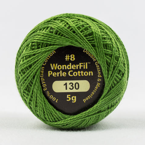 Wonderfil Eleganza Perle Cotton 8wt. - Cypress 130